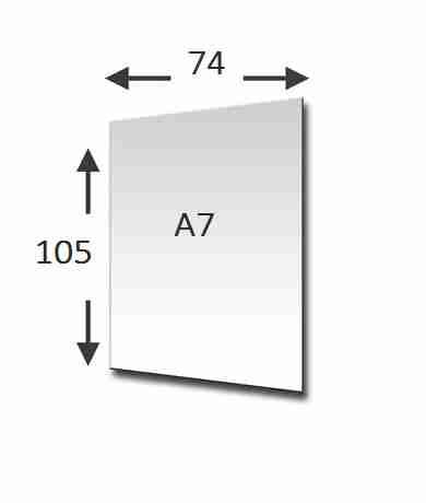 a7 formaat afbeelding